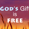God's love is a free gift